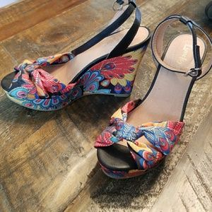 Colorful Summer Style Wedges